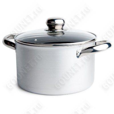 BALLARINI Кастрюля  + стеклянная крышка Alta Cucina d 24 см, 6D255D.24