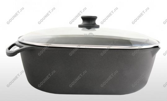 Супержаровня со стеклянной крышкой BAF GIGANT Newline 5001 39 40 1, диаметр - 40х28 см