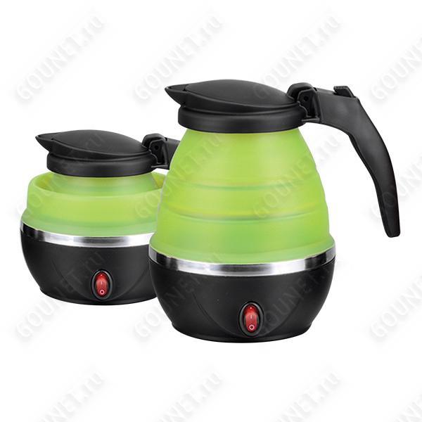 Чайник электрический Hotter HX-010 складной (0,8 л, зеленый)