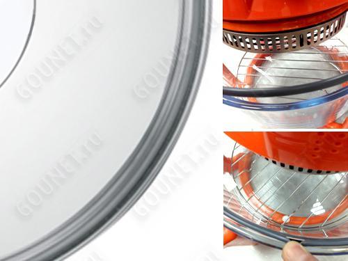 HOTTER Кольцо-уплотнительное силиконовое для аэрогриля