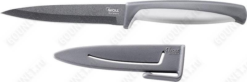 Нож кухонный овощной M008 Woll  (8 см.)
