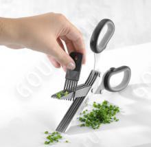 Ножницы кухонные для зелени с очистителем лезвий  Küchenprofi 23 9925 28 00 (сталь 18/10)