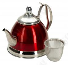 Чайник заварочный REGENT inox Linea PROMO с ситечком, 94-1508, 0.8л