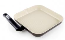Сковорода - гриль с керамическим покрытием Moneta SMART 28 х 28 см 3091428