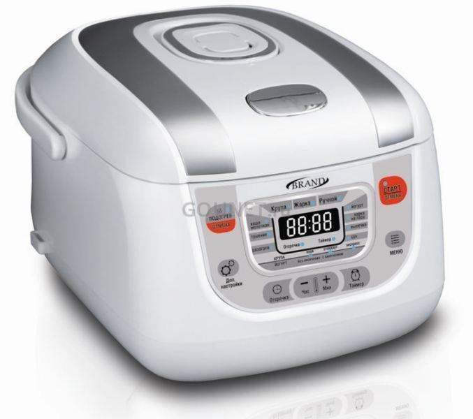 Мультиварка  BRAND 502   (850 Вт. 5 л. )