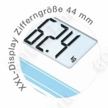 Весы дизайнерские Beurer GS20 Summer-Sky
