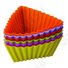 Набор силиконовых форм REGENT INOX - Тарталетки треугольные,93-SI-S-17.3