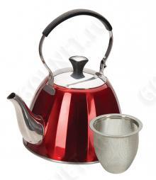 Чайник заварочный REGENT inox Linea STENDAL с ситечком, 93-TEA-SD-02, 1 л