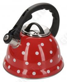 Чайник со свистком REGENT inox Linea PROMO 94-1507, 2.8 л