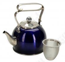 Чайник заварочный REGENT inox Linea PROMO с ситечком, 94-1510, 0.8л