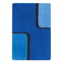 Коврик для ванной комнаты Spirella 1011912 BOND 60x90 см (голубой), акрил